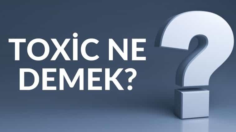 Toxic Ne Demek? Sosyal Medyada Ne Anlamda Kullanılır?